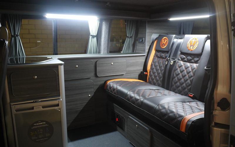 VW Transporter SWB Slimline campervan kitchen units